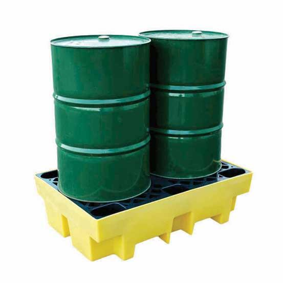 Spill Pallet for 2 x 205 ltr drums – BCBP2