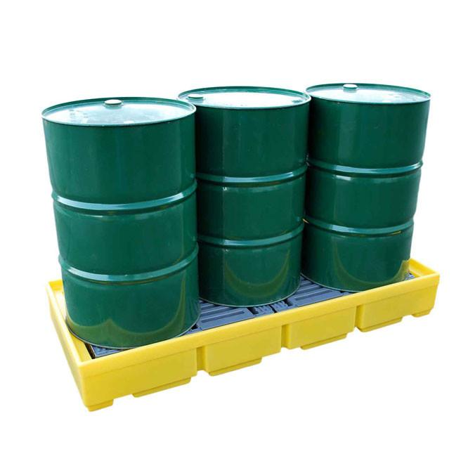 Spill Pallet for 3 x 205 ltr drums – BCBP3